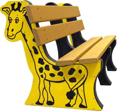 Animal End Bench