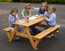 Early Years Picnic Table - 6 Seater