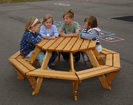 Early Years Octagonal Picnic Bench