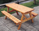 KS2 Picnic Bench