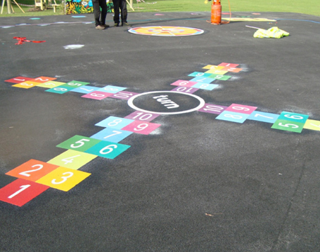 4-Way-Turn-Hopscotch