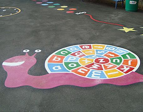 Alphabet-Snail