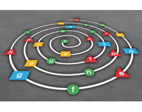 Alphabet-Spiral