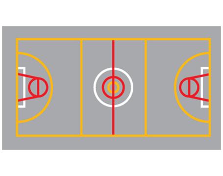 Netball-Football-Basketball