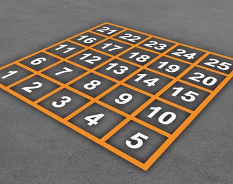 Number-Grid-1-25