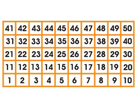 Number-Grid-1-50
