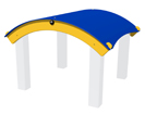 Curved Roof Feature