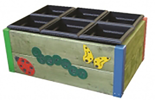 6 Box Planter