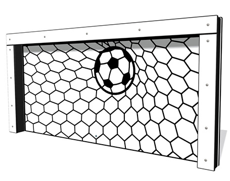 Football Goal with Posts