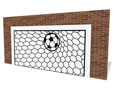 Football Goal - Wall Mounted
