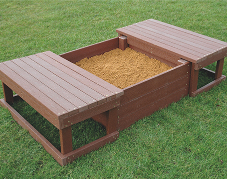 Recycled Sandpit