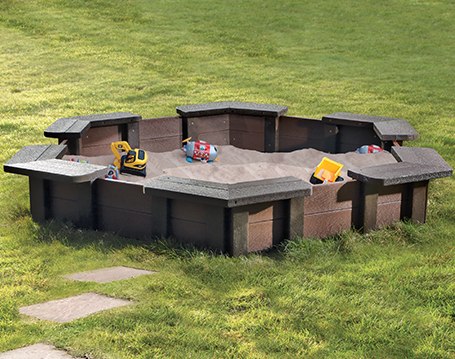 Hexagonal Sandpit