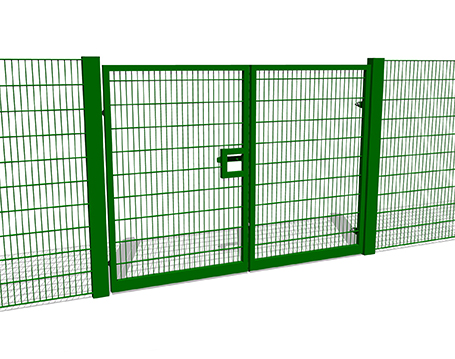 2m High Double Gate