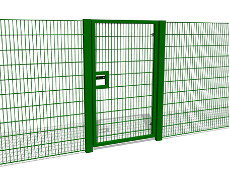2m High Single Gate