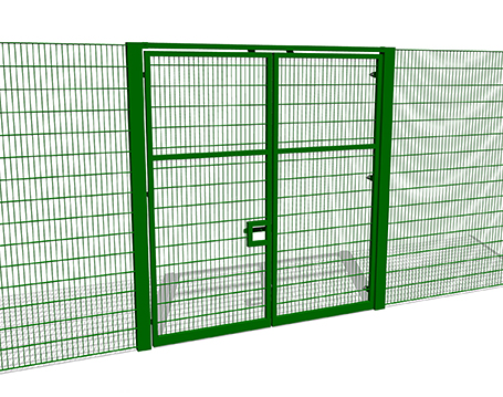 3m High Double Gate