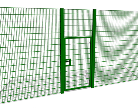 3m High Single Gate