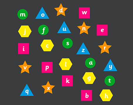 Alphabet Shapes