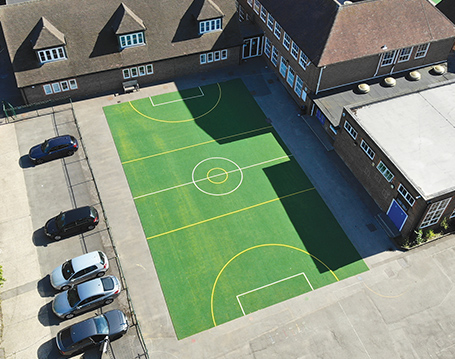 Artificial Sports Courts