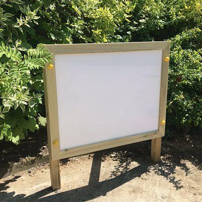 Outdoor White Board