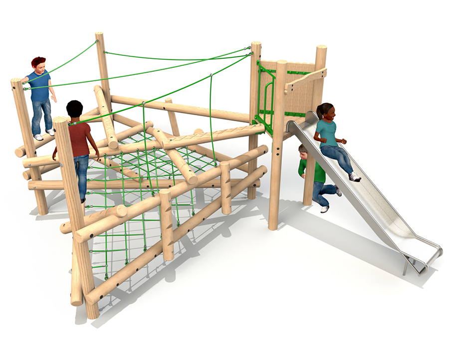 Forest Climber 3 with Slide